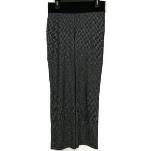 Zac & Rachel Black White Medium Pants